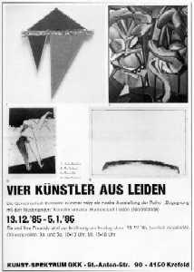 Vier Künstler aus Leiden
